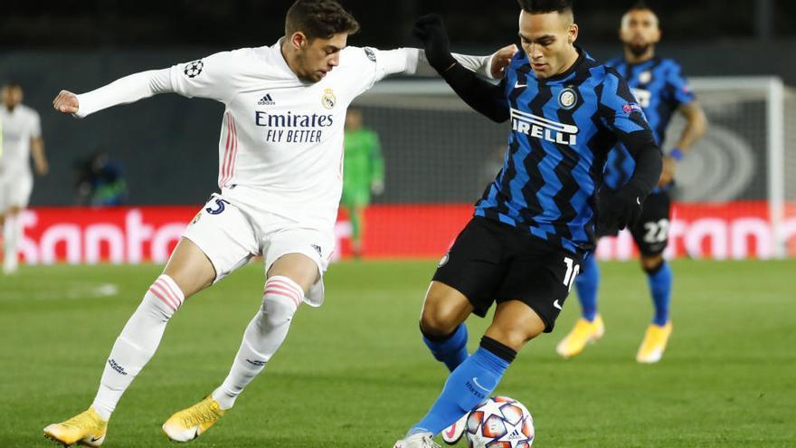 Rodrygo salva para el Real Madrid el primer 'match ball' europeo ante el Inter de Milán