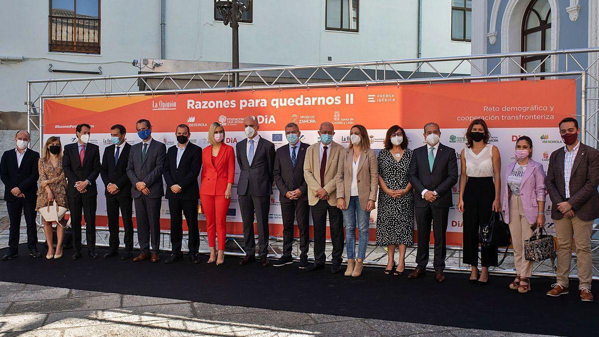 """Congreso """"Razones para quedarnos II"""" celebrado el pasado miércoles en Zamora."""