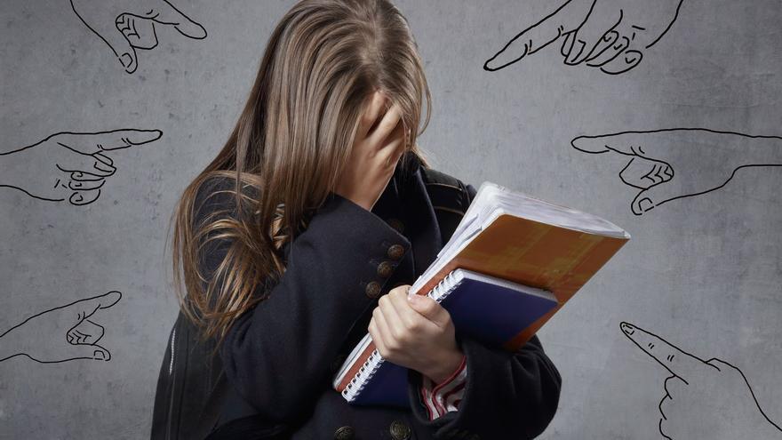 El confinamiento no evita el acoso escolar: cinco casos cada mes durante el pasado año