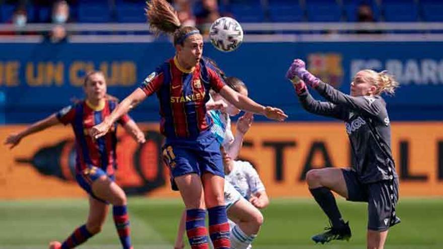 El Deportivo Abanca encaja una dura goleada contra el Barcelona