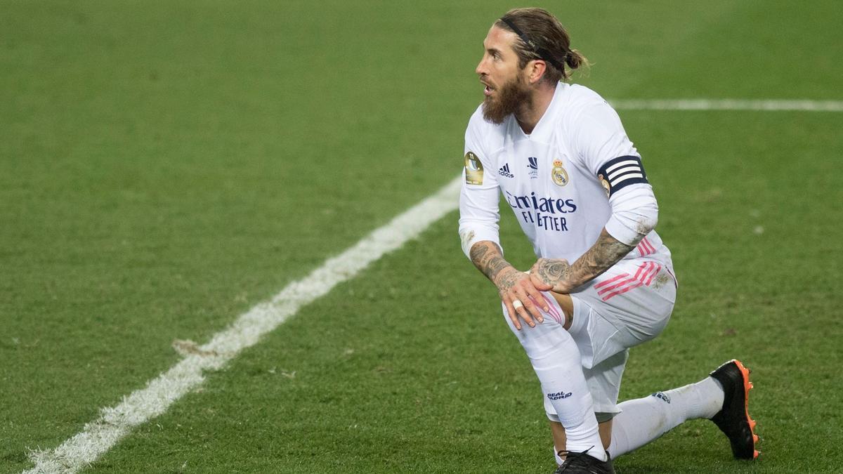 Sergio Ramos, en un partido anterior