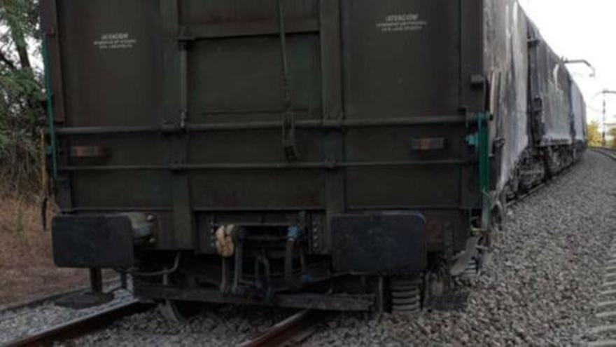 El descarrilament d'un tren talla la línia de Rodalies entre Girona i Caldes de Malavella