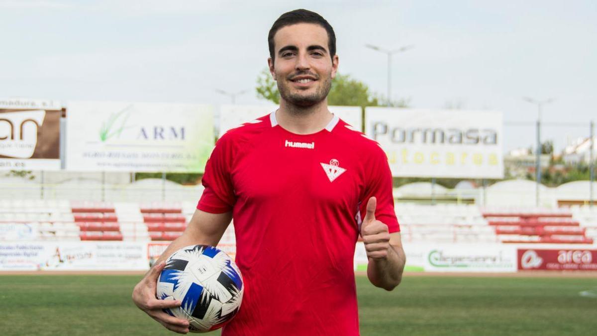 Samuel Goñi ha sido la última incorporación del Deportivo Don Benito.