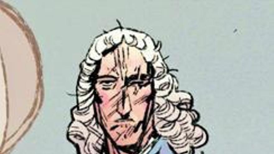 Seis barcos, un ojo, una pierna y un brazo: Blas de Lezo, al cómic