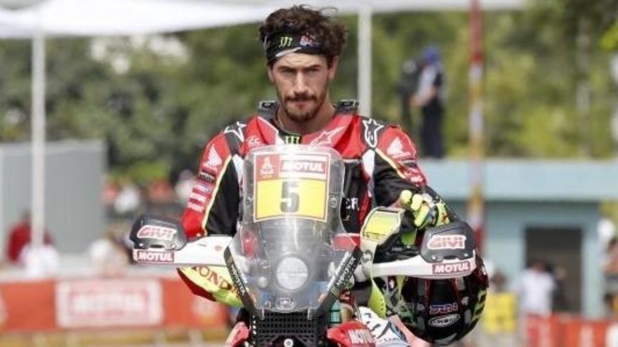 Joan Barreda s'endú la setena etapa en motos