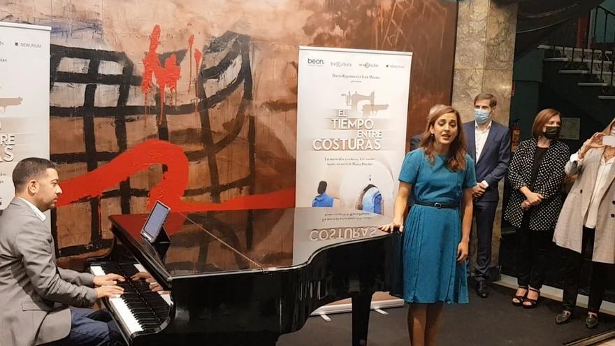 El musical de 'El tiempo entre costuras' se estrenará en el Teatro Principal de Zaragoza
