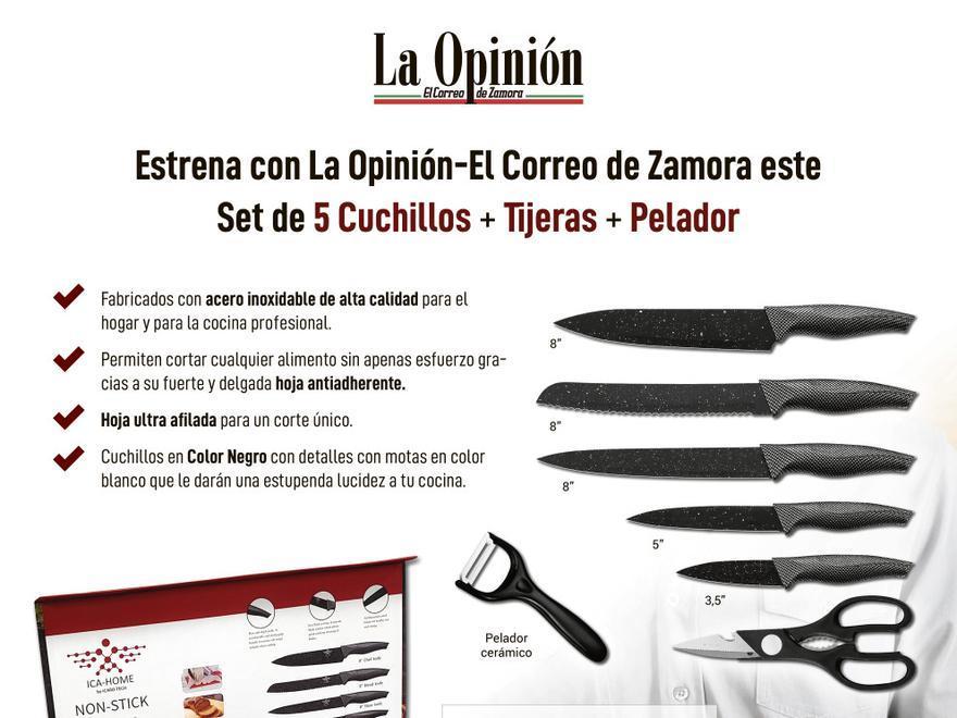 Promoción cuchillos de cocina - Marzo 2021