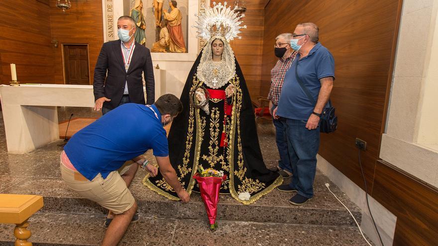 La Marinera será trasladada mañana al monasterio de la Santa Faz de Alicante