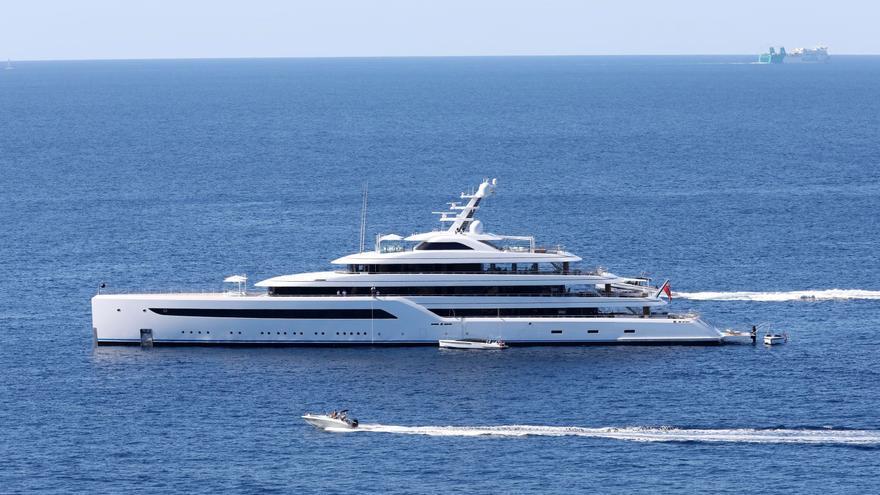 """Jack Ma findet mit seiner Superyacht """"Zen"""" Gefallen am Südwesten von Mallorca"""
