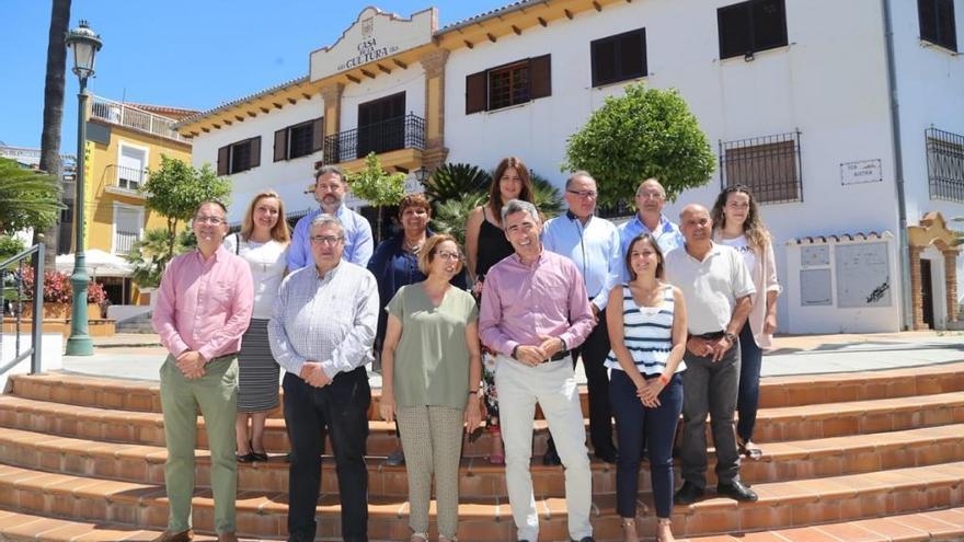 El PSOE e IU suscriben un acuerdo para un Gobierno de Progreso en Benalmádena