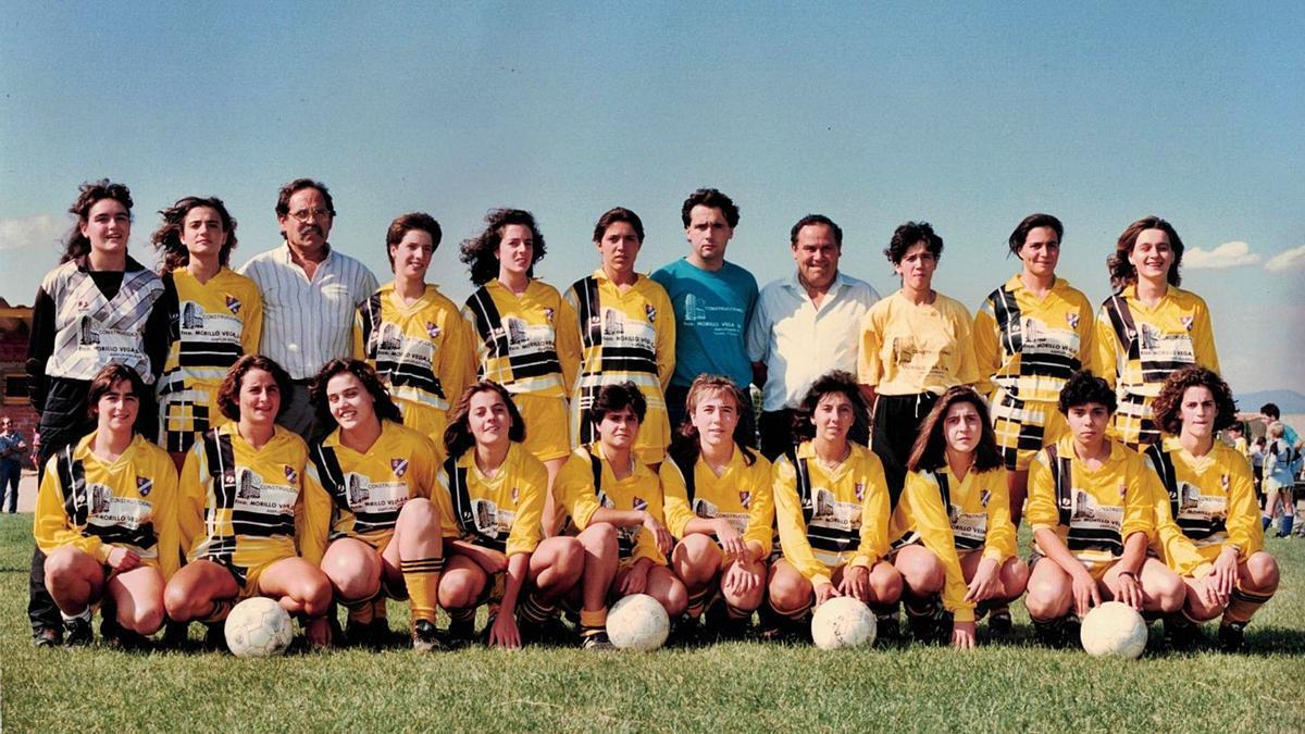 El primer equip va competir per tot Espanya a Divisió d'Honor
