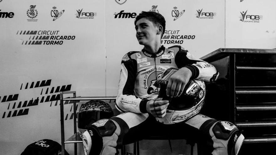 Mor als 14 anys el jove pilot de motos Hugo Millán