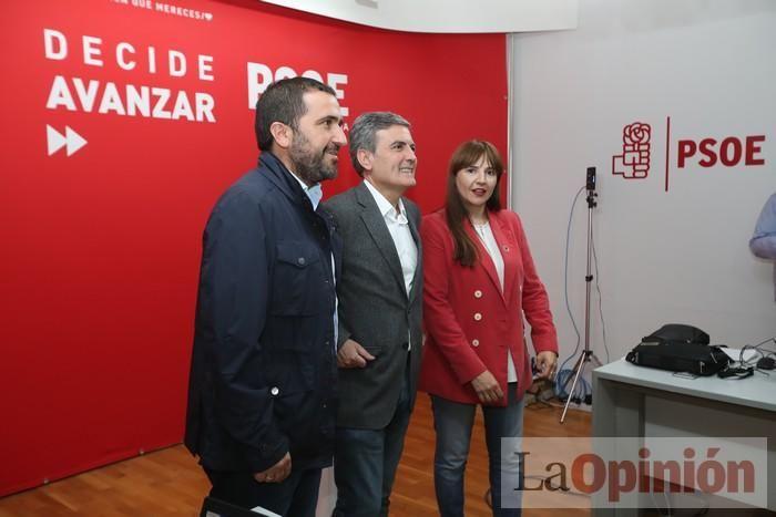 Así fue la noche electoral en la sede del PSOE en la Región de Murcia