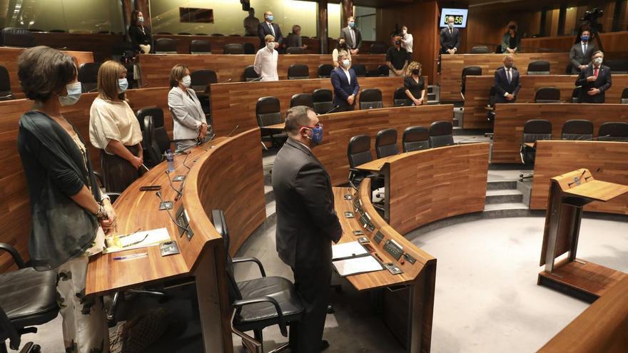 Ciudadanos y Vox no logran tumbar el proyecto de ley para que el Gobierno asturiano pueda declarar la emergencia por crisis sanitaria