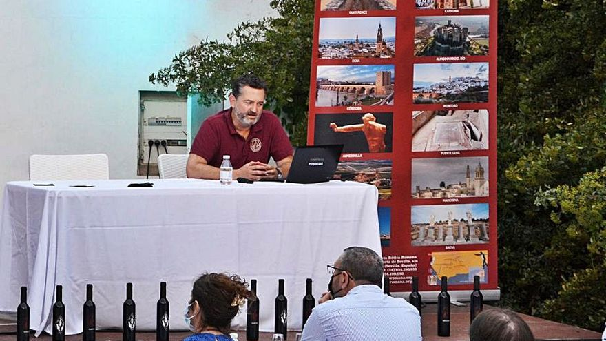 Conferencia sobre el vino en la época romana