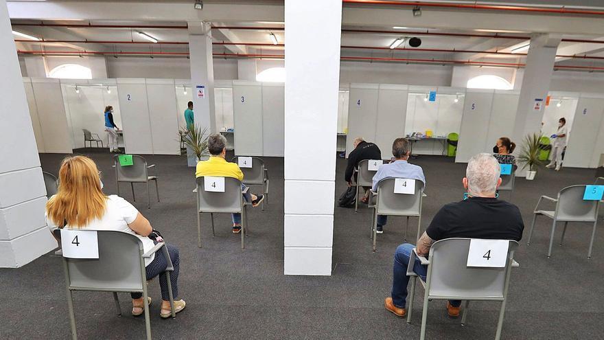 Sanidad pone en marcha nuevo punto de vacunación masiva en Tenerife