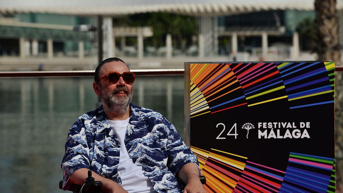 Bob Pop, en Málaga, el pasado viernes. |   // GREGORIO MARRERO