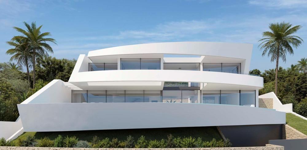 Los chalés futuristas 'aterrizan' en Xàbia y Moraira