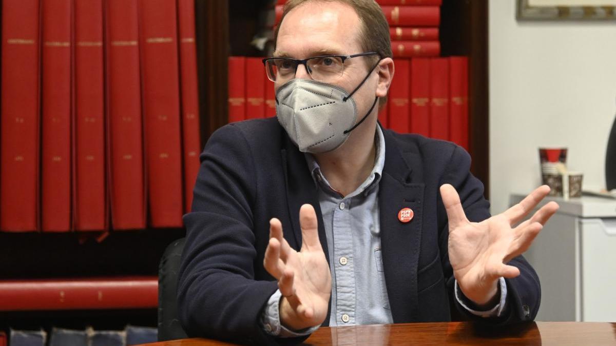 «Estoy dispuesto a seguir al frente del PSPV en la provincia de Castellón»