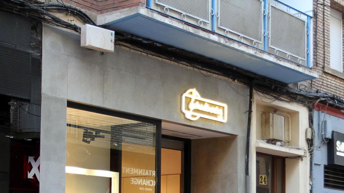 Imagen de archivo de la tienda de Stradivarius de la calle Delicias