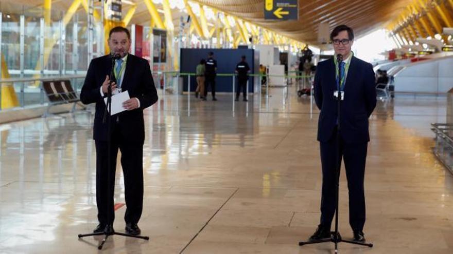 España recibe 100 vuelos con la apertura de fronteras