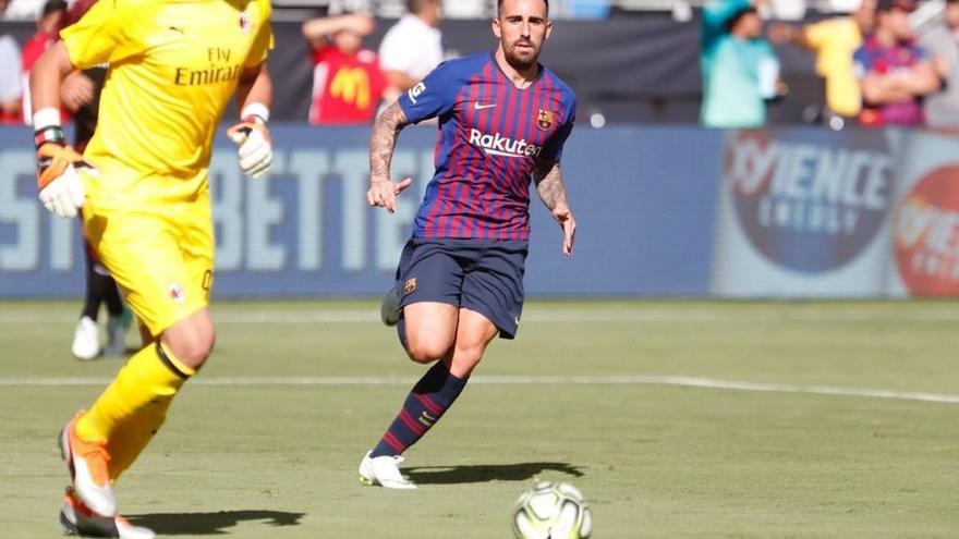 El FC Barcelona quiere deshacerse de Alcácer