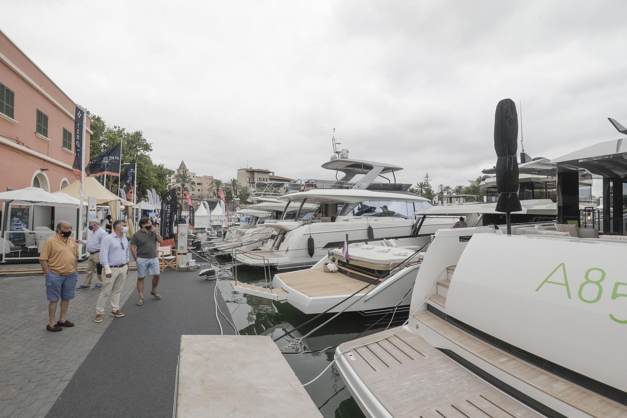 Los Rolls Royce del mundo del mar se exponen en Mallorca