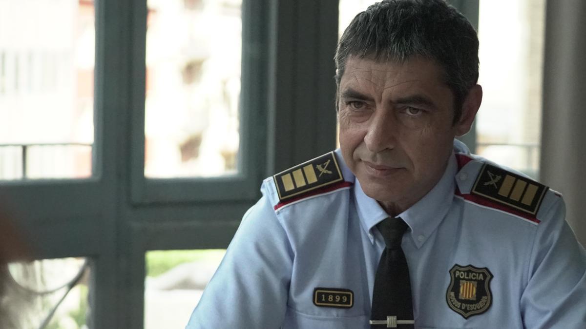 El major dels Mossos, Josep Lluís Trapero, en l'entrevista concedida a TV3