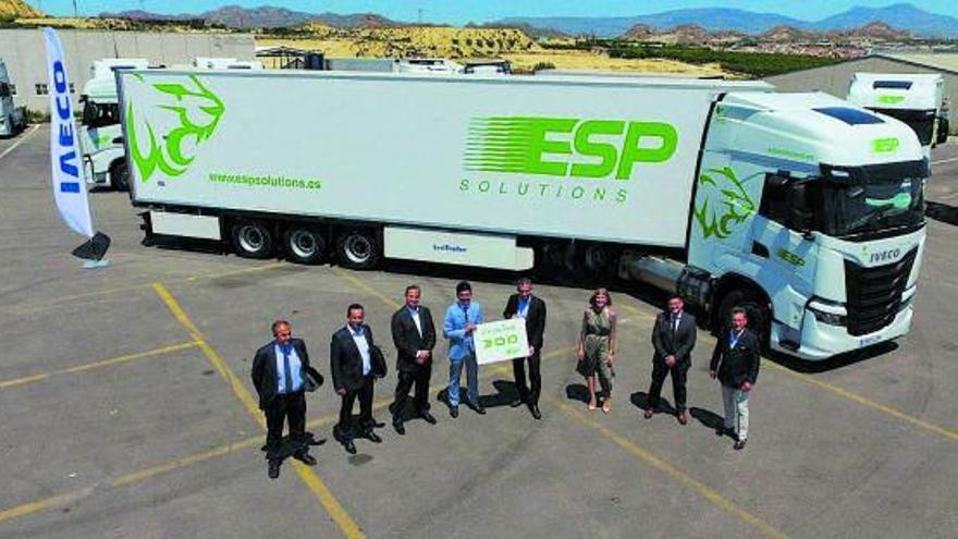 Ginés Huertas Industriales entrega la mayor flota de camiones propulsados por gas natural en Europa de este año