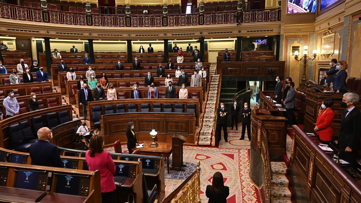 Imagen de una sesión en el Congreso de los Diputados.
