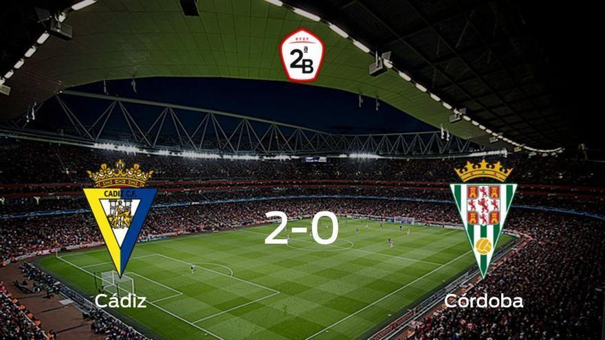 El Cádiz B vence en casa al Córdoba por 2-0