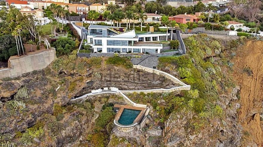La vivienda más cara de Canarias está en Santa Úrsula y se vende por 8,8 millones