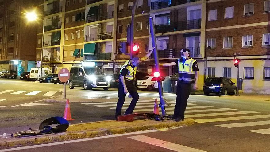 Tras la pista del conductor fugado en Zamora capital