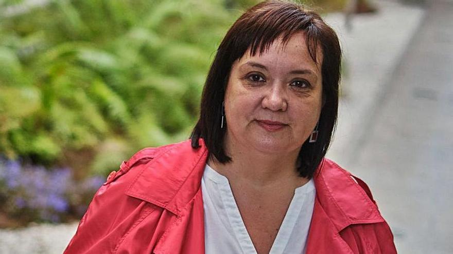 Marián Franquet, consejera de Acción Social del Cabildo. | | ANDRÉS GUTIÉRREZ