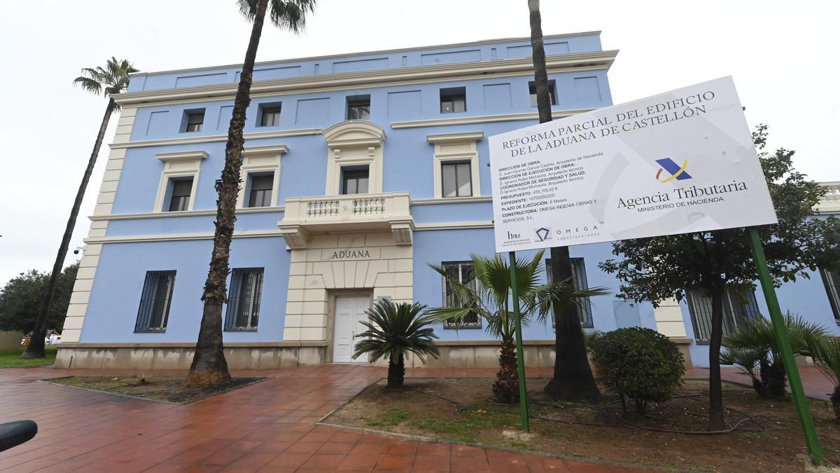 El edificio de la aduana, remodelado, abrirá la primera quincena de junio.