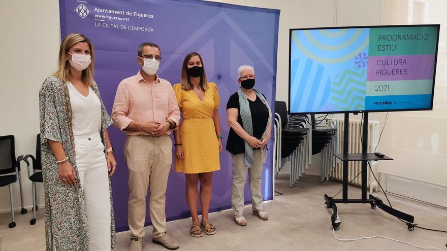 Una cinquantena d'activitats animen l'estiu a Figueres