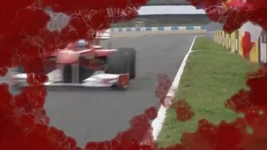 Ferrari difunde los mejores momentos de Alonso en Lanzarote