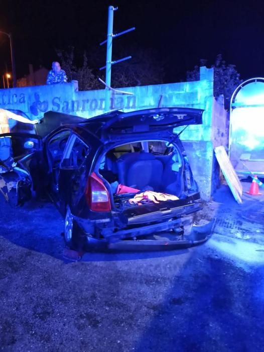 Accidente mortal en Nigrán