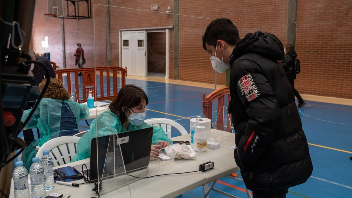 Pruebas de coronavirus en Zamora