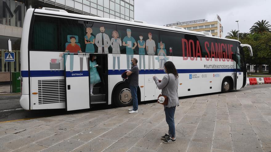 La donación de sangre aguanta el tipo en A Coruña