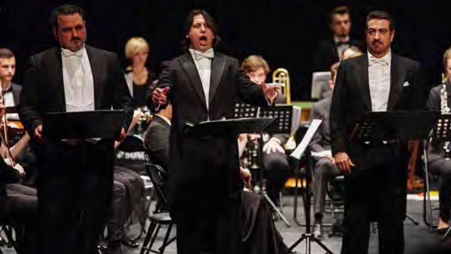 Tres Tenores · Orquesta de Cámara de la Ópera Nacional de Moldavia