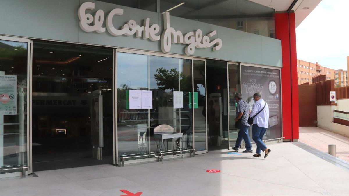 Un dels centres de l'empresa El Corte Inglés.