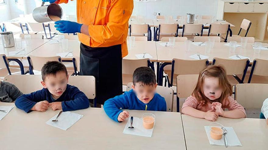 Catering 45, premio NAOS 2019 como el Mejor Comedor Escolar de España