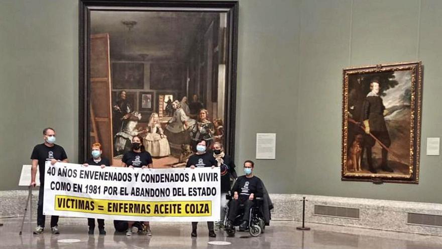 Los olvidados de la colza se encierran en el Prado