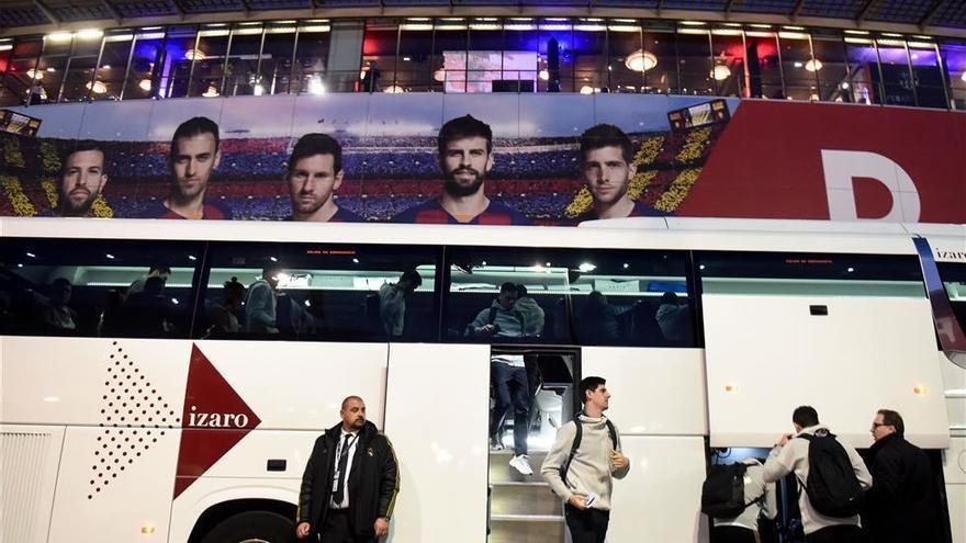 Todos los protagonistas ya están en el Camp Nou