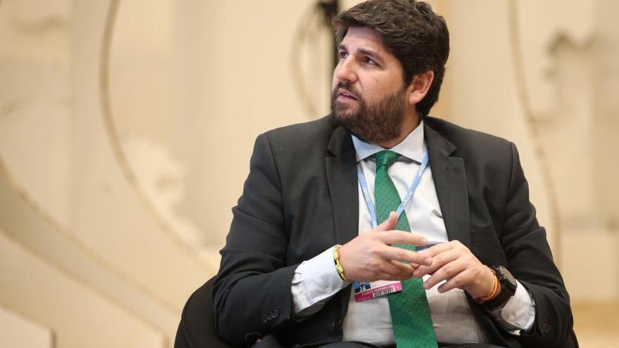 López Miras pide al Gobierno central que ponga sobre la mesa un confinamiento domiciliario