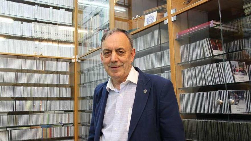 Foxo se muestra preocupado por 8.000 canciones que recuperó en cuarenta años