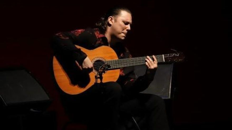 'Currito' presenta en Córdoba las 'Sensaciones' de su guitarra