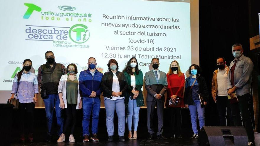 Turismo anima a los empresarios del Valle del Guadalquivir a solicitar las ayudas al sector