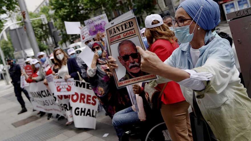 El juez rechaza imponer medidas a Ghali al no haber pruebas en su contra de delito alguno